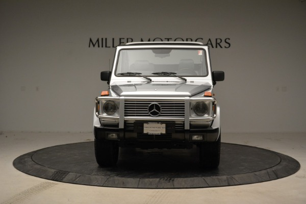 Used 1999 Mercedes Benz G500 Cabriolet for sale Sold at Aston Martin of Greenwich in Greenwich CT 06830 12