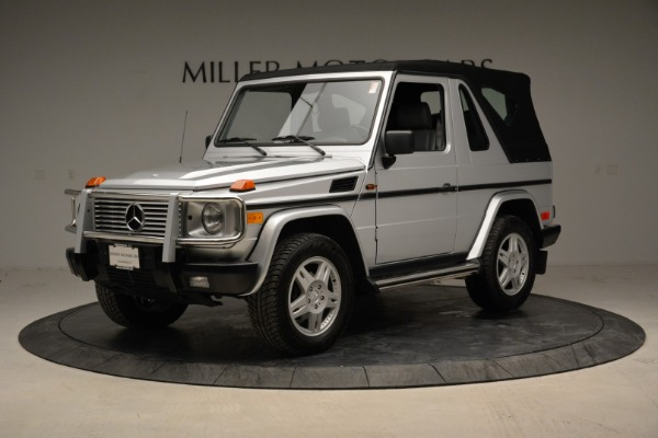 Used 1999 Mercedes Benz G500 Cabriolet for sale Sold at Aston Martin of Greenwich in Greenwich CT 06830 13