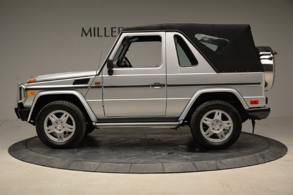 Used 1999 Mercedes Benz G500 Cabriolet for sale Sold at Aston Martin of Greenwich in Greenwich CT 06830 14