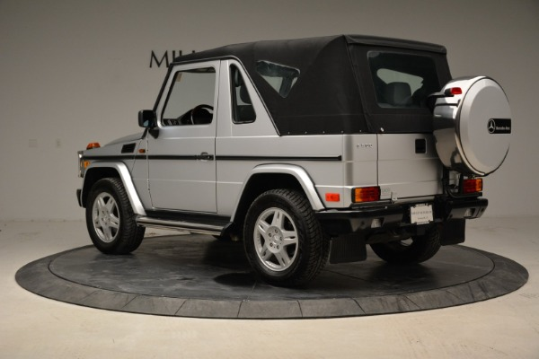 Used 1999 Mercedes Benz G500 Cabriolet for sale Sold at Aston Martin of Greenwich in Greenwich CT 06830 15