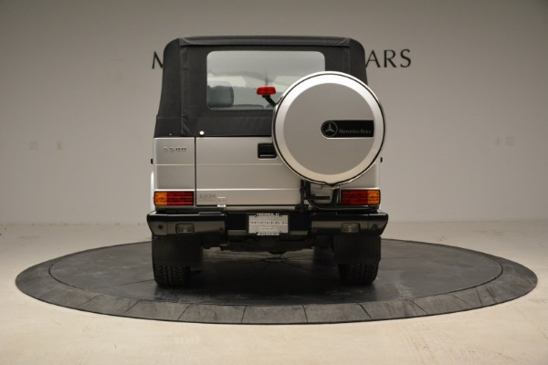 Used 1999 Mercedes Benz G500 Cabriolet for sale Sold at Aston Martin of Greenwich in Greenwich CT 06830 16