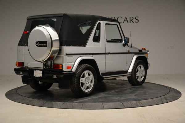 Used 1999 Mercedes Benz G500 Cabriolet for sale Sold at Aston Martin of Greenwich in Greenwich CT 06830 17