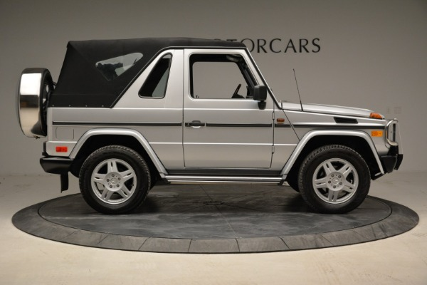 Used 1999 Mercedes Benz G500 Cabriolet for sale Sold at Aston Martin of Greenwich in Greenwich CT 06830 18