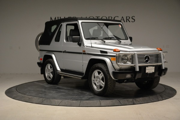 Used 1999 Mercedes Benz G500 Cabriolet for sale Sold at Aston Martin of Greenwich in Greenwich CT 06830 19