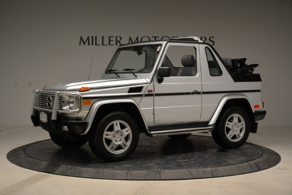 Used 1999 Mercedes Benz G500 Cabriolet for sale Sold at Aston Martin of Greenwich in Greenwich CT 06830 2