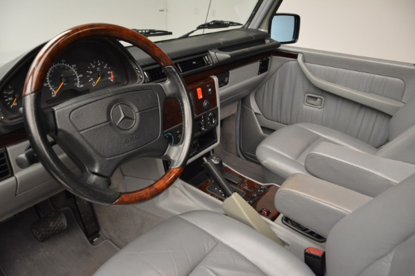 Used 1999 Mercedes Benz G500 Cabriolet for sale Sold at Aston Martin of Greenwich in Greenwich CT 06830 22