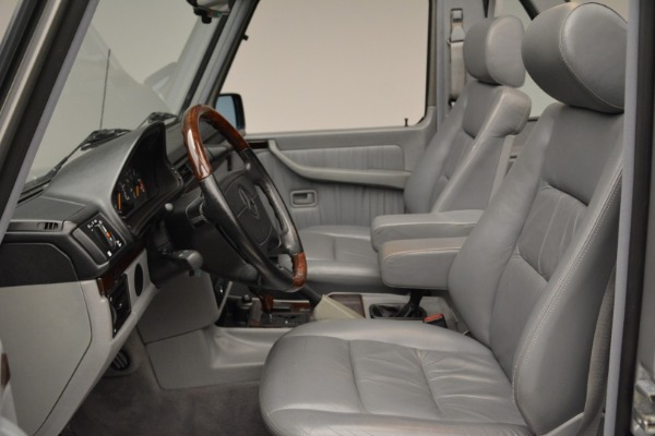 Used 1999 Mercedes Benz G500 Cabriolet for sale Sold at Aston Martin of Greenwich in Greenwich CT 06830 23