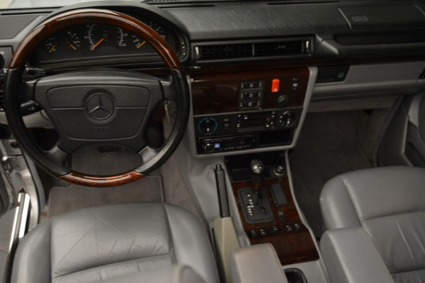 Used 1999 Mercedes Benz G500 Cabriolet for sale Sold at Aston Martin of Greenwich in Greenwich CT 06830 25