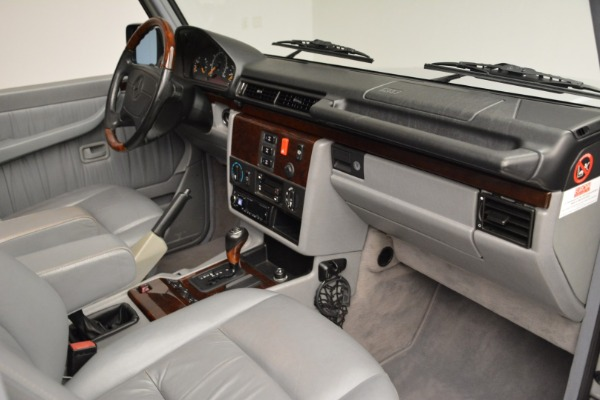 Used 1999 Mercedes Benz G500 Cabriolet for sale Sold at Aston Martin of Greenwich in Greenwich CT 06830 26