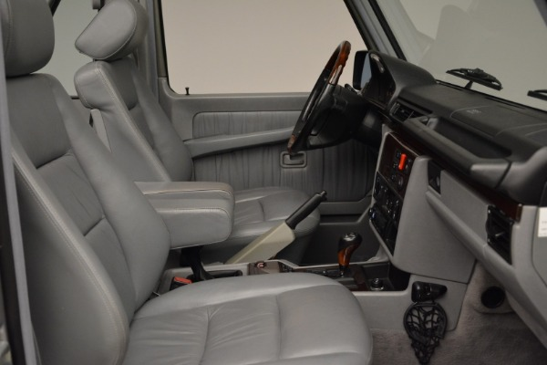 Used 1999 Mercedes Benz G500 Cabriolet for sale Sold at Aston Martin of Greenwich in Greenwich CT 06830 27