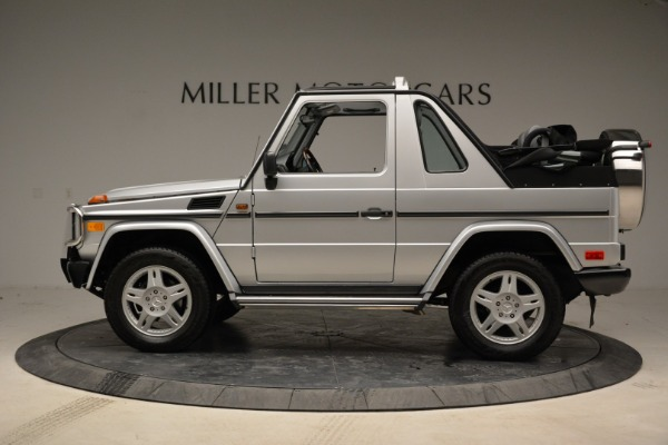 Used 1999 Mercedes Benz G500 Cabriolet for sale Sold at Aston Martin of Greenwich in Greenwich CT 06830 3