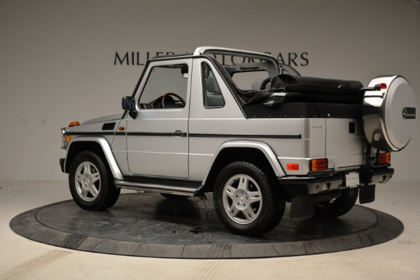 Used 1999 Mercedes Benz G500 Cabriolet for sale Sold at Aston Martin of Greenwich in Greenwich CT 06830 4