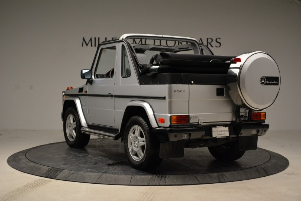 Used 1999 Mercedes Benz G500 Cabriolet for sale Sold at Aston Martin of Greenwich in Greenwich CT 06830 5