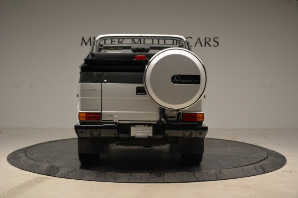 Used 1999 Mercedes Benz G500 Cabriolet for sale Sold at Aston Martin of Greenwich in Greenwich CT 06830 6