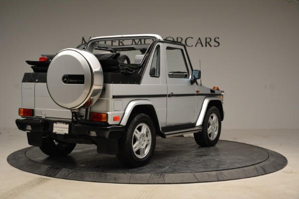 Used 1999 Mercedes Benz G500 Cabriolet for sale Sold at Aston Martin of Greenwich in Greenwich CT 06830 7