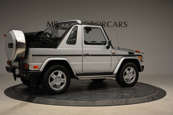 Used 1999 Mercedes Benz G500 Cabriolet for sale Sold at Aston Martin of Greenwich in Greenwich CT 06830 8