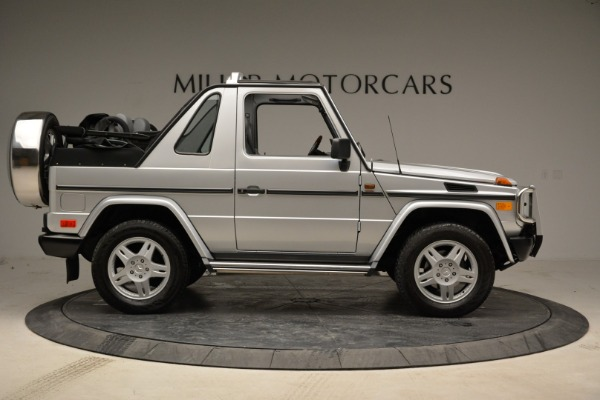 Used 1999 Mercedes Benz G500 Cabriolet for sale Sold at Aston Martin of Greenwich in Greenwich CT 06830 9