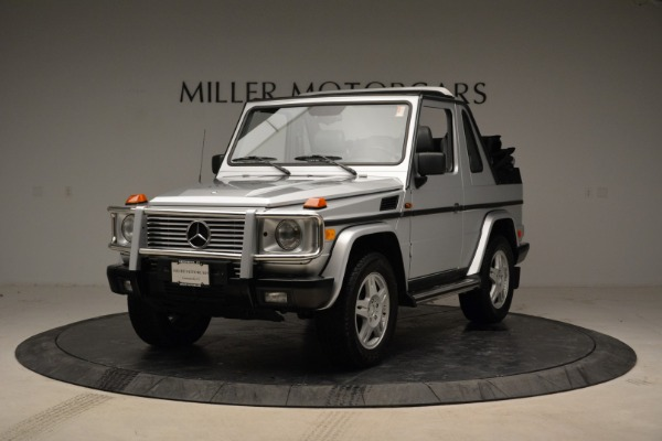 Used 1999 Mercedes Benz G500 Cabriolet for sale Sold at Aston Martin of Greenwich in Greenwich CT 06830 1