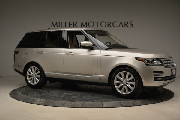 Used 2016 Land Rover Range Rover HSE for sale Sold at Aston Martin of Greenwich in Greenwich CT 06830 10