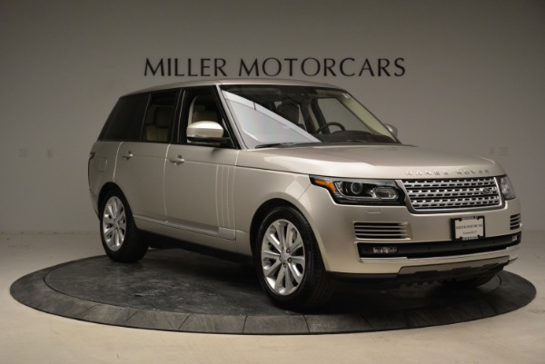 Used 2016 Land Rover Range Rover HSE for sale Sold at Aston Martin of Greenwich in Greenwich CT 06830 11