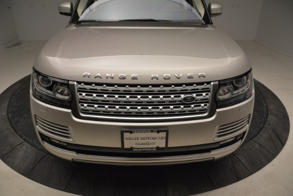 Used 2016 Land Rover Range Rover HSE for sale Sold at Aston Martin of Greenwich in Greenwich CT 06830 13