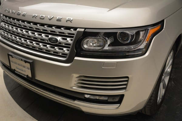 Used 2016 Land Rover Range Rover HSE for sale Sold at Aston Martin of Greenwich in Greenwich CT 06830 14