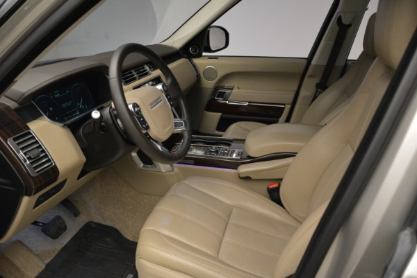 Used 2016 Land Rover Range Rover HSE for sale Sold at Aston Martin of Greenwich in Greenwich CT 06830 17