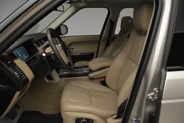 Used 2016 Land Rover Range Rover HSE for sale Sold at Aston Martin of Greenwich in Greenwich CT 06830 18