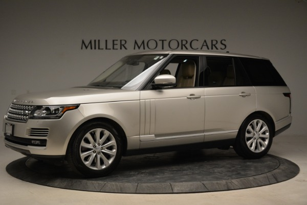 Used 2016 Land Rover Range Rover HSE for sale Sold at Aston Martin of Greenwich in Greenwich CT 06830 2