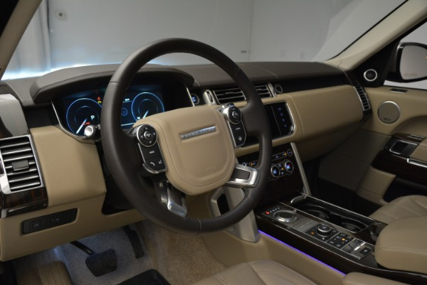 Used 2016 Land Rover Range Rover HSE for sale Sold at Aston Martin of Greenwich in Greenwich CT 06830 20