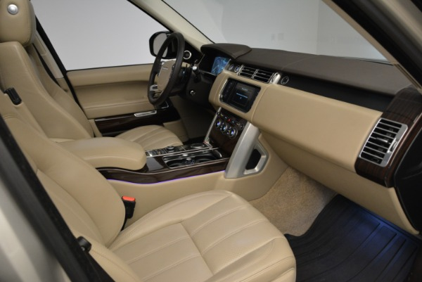 Used 2016 Land Rover Range Rover HSE for sale Sold at Aston Martin of Greenwich in Greenwich CT 06830 27