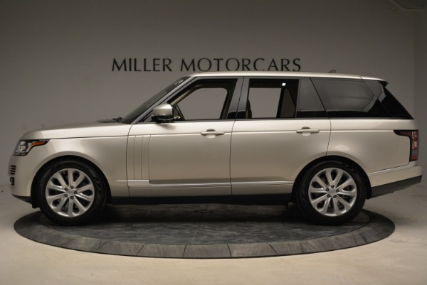 Used 2016 Land Rover Range Rover HSE for sale Sold at Aston Martin of Greenwich in Greenwich CT 06830 3