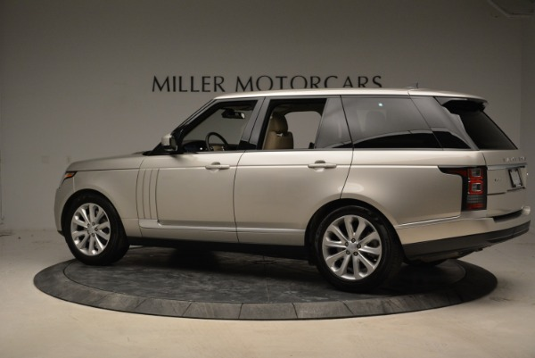Used 2016 Land Rover Range Rover HSE for sale Sold at Aston Martin of Greenwich in Greenwich CT 06830 4