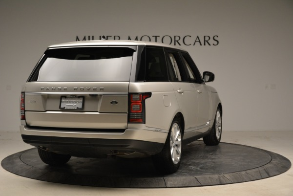 Used 2016 Land Rover Range Rover HSE for sale Sold at Aston Martin of Greenwich in Greenwich CT 06830 7