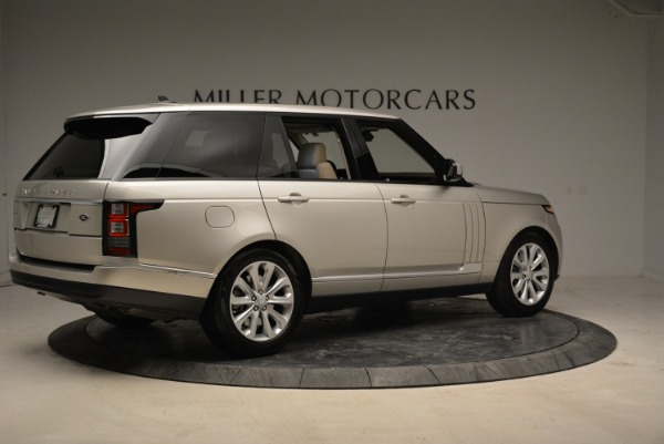 Used 2016 Land Rover Range Rover HSE for sale Sold at Aston Martin of Greenwich in Greenwich CT 06830 8