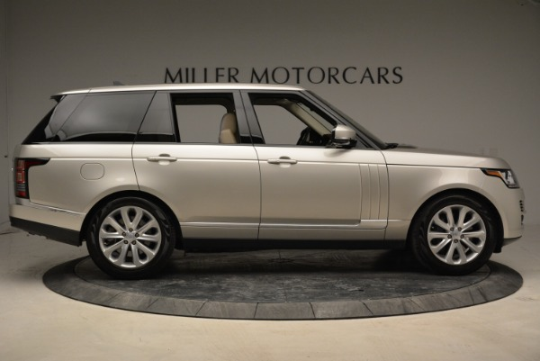 Used 2016 Land Rover Range Rover HSE for sale Sold at Aston Martin of Greenwich in Greenwich CT 06830 9