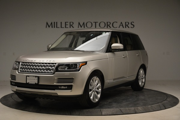 Used 2016 Land Rover Range Rover HSE for sale Sold at Aston Martin of Greenwich in Greenwich CT 06830 1