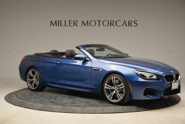 Used 2013 BMW M6 Convertible for sale Sold at Aston Martin of Greenwich in Greenwich CT 06830 10