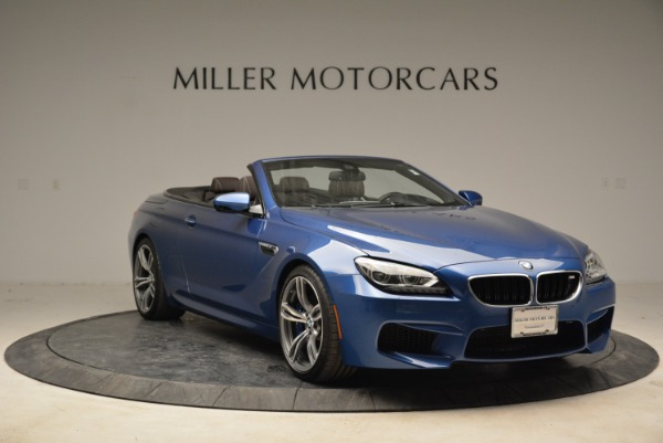 Used 2013 BMW M6 Convertible for sale Sold at Aston Martin of Greenwich in Greenwich CT 06830 11