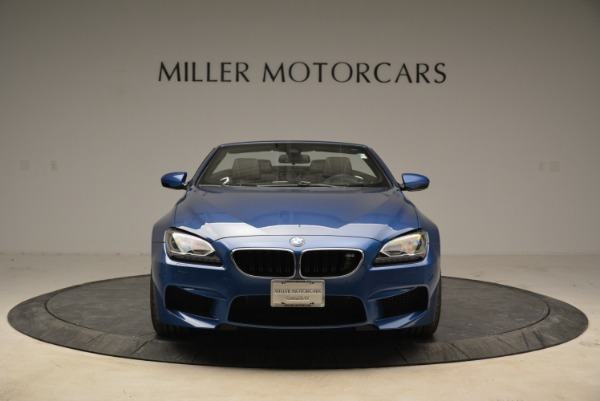 Used 2013 BMW M6 Convertible for sale Sold at Aston Martin of Greenwich in Greenwich CT 06830 12