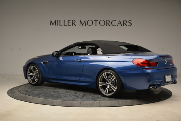 Used 2013 BMW M6 Convertible for sale Sold at Aston Martin of Greenwich in Greenwich CT 06830 16