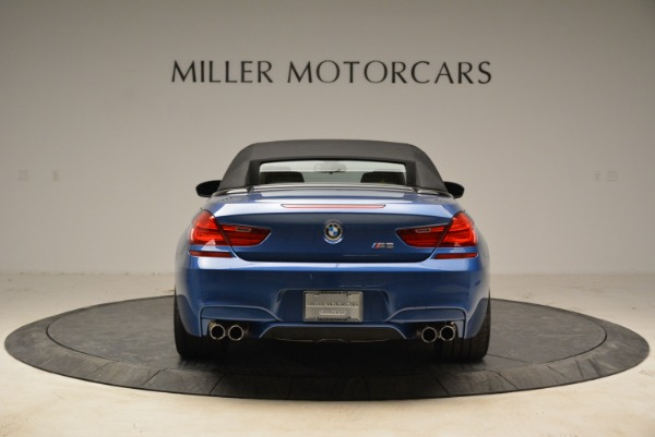 Used 2013 BMW M6 Convertible for sale Sold at Aston Martin of Greenwich in Greenwich CT 06830 18