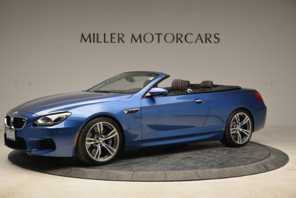 Used 2013 BMW M6 Convertible for sale Sold at Aston Martin of Greenwich in Greenwich CT 06830 2