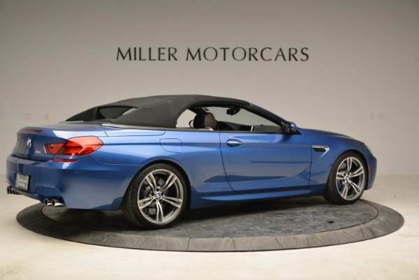 Used 2013 BMW M6 Convertible for sale Sold at Aston Martin of Greenwich in Greenwich CT 06830 20
