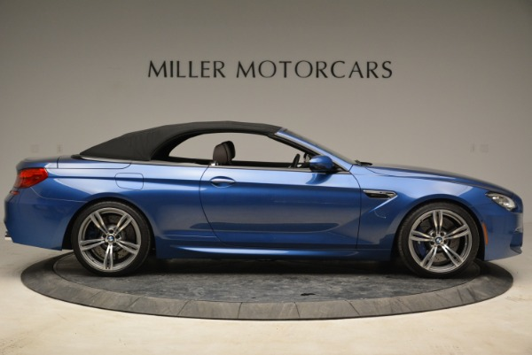 Used 2013 BMW M6 Convertible for sale Sold at Aston Martin of Greenwich in Greenwich CT 06830 21