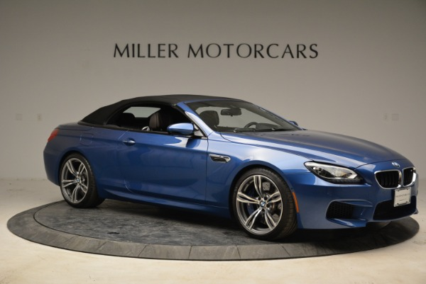 Used 2013 BMW M6 Convertible for sale Sold at Aston Martin of Greenwich in Greenwich CT 06830 22