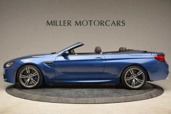 Used 2013 BMW M6 Convertible for sale Sold at Aston Martin of Greenwich in Greenwich CT 06830 3