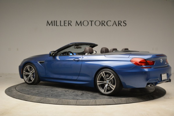 Used 2013 BMW M6 Convertible for sale Sold at Aston Martin of Greenwich in Greenwich CT 06830 4
