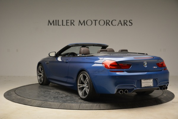 Used 2013 BMW M6 Convertible for sale Sold at Aston Martin of Greenwich in Greenwich CT 06830 5