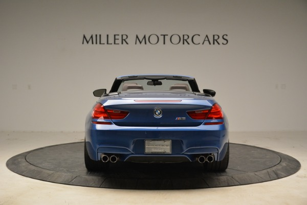 Used 2013 BMW M6 Convertible for sale Sold at Aston Martin of Greenwich in Greenwich CT 06830 6